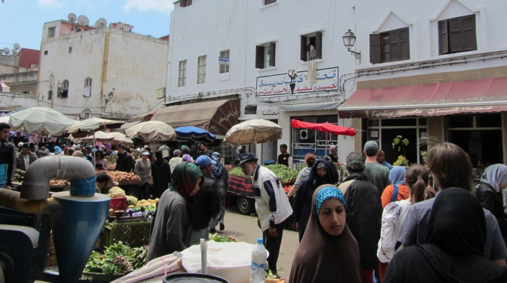 Medina market... rather for locals, not tourists