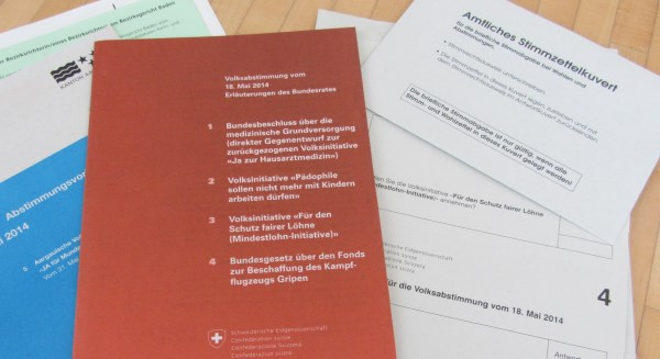 Swiss voting documents