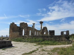 Volubilis - and a stork